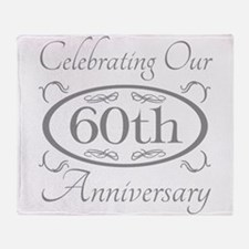 Unique 60 year anniversary Throw Blanket