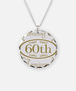 Cute 60th wedding anniversary Necklace