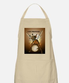 Cute pixie playing Apron