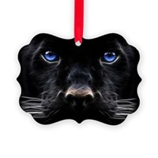 Cute Black panther Ornament
