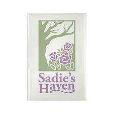 Funny Sadie Rectangle Magnet