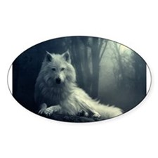 white wolf Decal