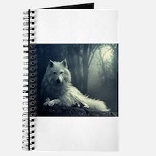 Unique White wolf Journal