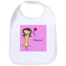 Fab Flo in Pink Bib