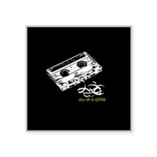"Cute Boom box Square Sticker 3"" x 3"""
