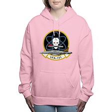 Unique Navy blue Women's Hooded Sweatshirt
