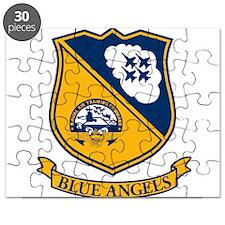 Funny Jet blue Puzzle