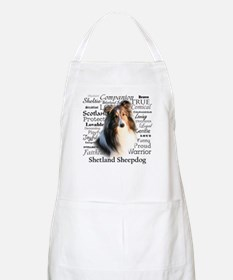 Sheltie Traits Apron