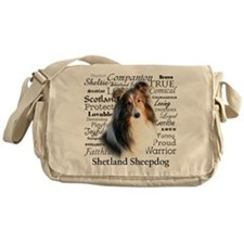 Sheltie Traits Messenger Bag