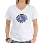 LAX Police Women's V-Neck T-Shirt