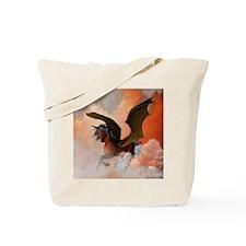 The dark unicorn Tote Bag