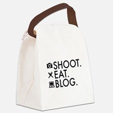 Cute Blogger Canvas Lunch Bag