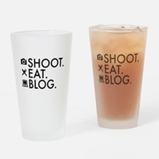 Cute Blogger Drinking Glass