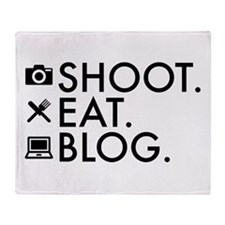 Cute Bloggers Throw Blanket