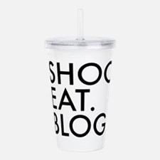 Cute Funny blogger Acrylic Double-wall Tumbler