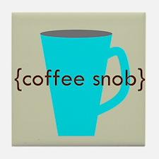 Coffee Snob (mug) Tile Coaster