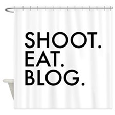 Unique Funny blogger Shower Curtain