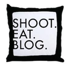 Funny Blog funny Throw Pillow