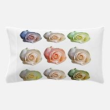 NineColoredRoses Pillow Case