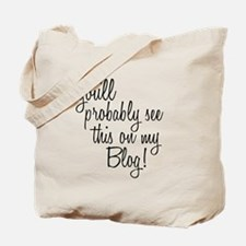 Unique Bloggers Tote Bag