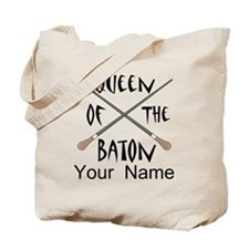 Funny Female Music Conductor Tote Bag