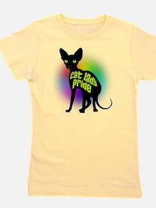 Cat Lady Pride Girl's Tee