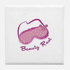 Beauty Rest Tile Coaster