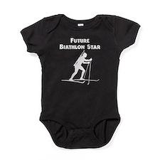 Future Biathlon Star Baby Bodysuit