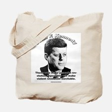 John F. Kennedy 01 Tote Bag