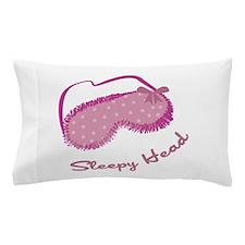 Sleepy Head Pillow Case