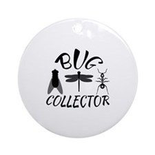 Bug Collector Ornament (Round)