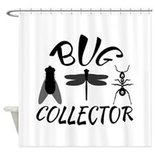 Bug Collector Shower Curtain