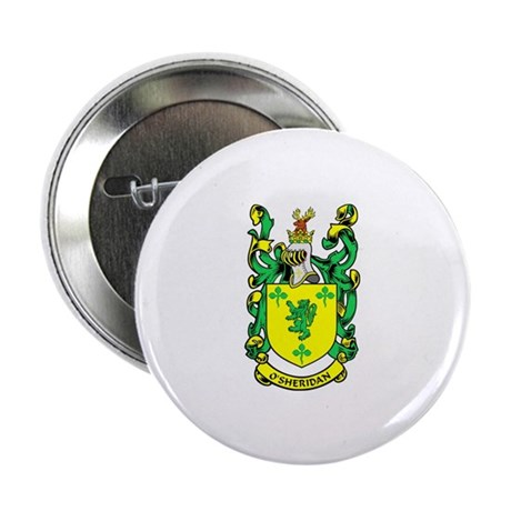 """O'SHERIDAN 1 Coat of Arms 2.25"""" Button (10 pack)"""