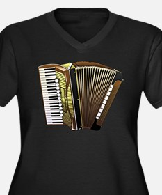 Beautiful Accordion Musical Instrument Plus Size T