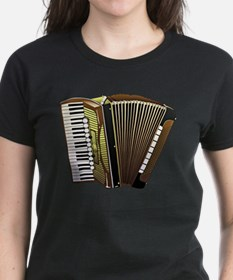 Beautiful Accordion Musical Instrument T-Shirt