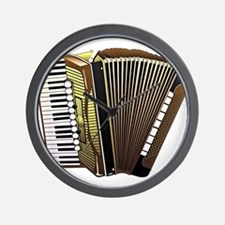 Funny Accordion Wall Clock