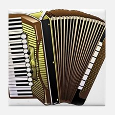 Cute Accordion Tile Coaster