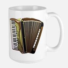 Beautiful Accordion Musical Instrument Mugs