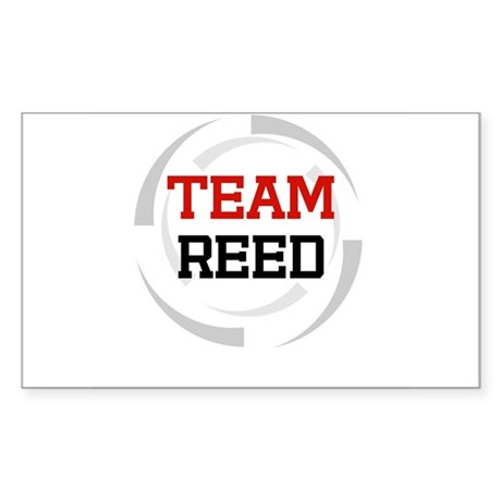 Reed Rectangle Sticker
