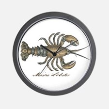 Vintage Maine Lobster scientific illustration Wall
