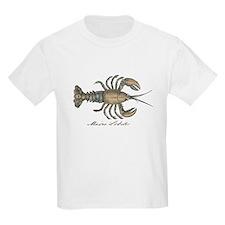 Vintage Maine Lobster scientific illustration T-Sh