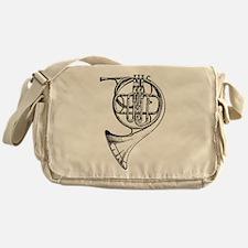 Unique French horn Messenger Bag