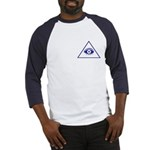 The Masonic All Seeing Eye Baseball Jersey
