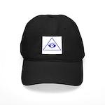 The Masonic All Seeing Eye Black Cap
