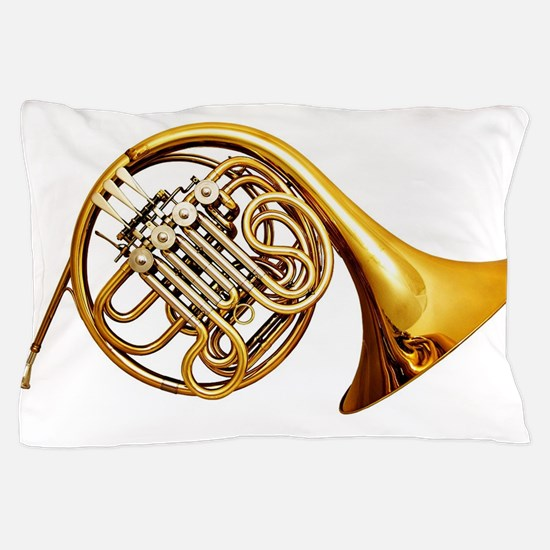 Cute French horn Pillow Case