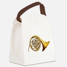 Unique French horn Canvas Lunch Bag