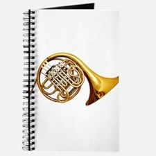 Cute French horn Journal