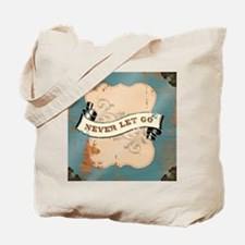 Never Let Go Cover Tote Bag
