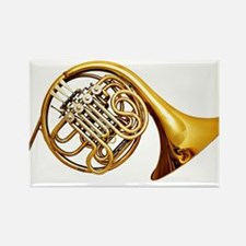 Shiny Brass French Horn Magnets