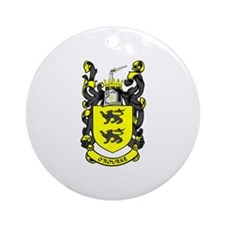 O'ROURKE Coat of Arms Ornament (Round)